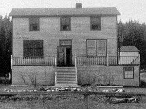 First hospital in Port Saunders. Photo provided by Tom Caines.