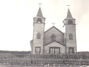 Old RC Church of Port Saunders. Photo provided by Tom Caines.