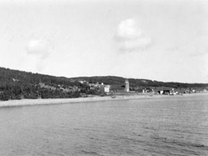 Port Saunders circa 1923. Photo provided by Tom Caines.