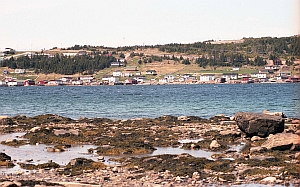 Scenic waterfront of Port Saunders